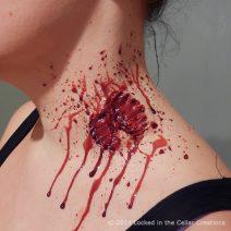 Zombie Bite Wound Injury Make-up