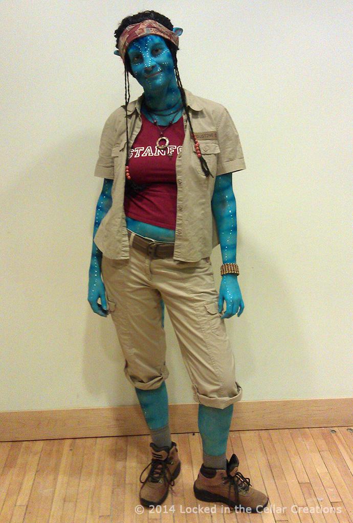 Avatar's Grace, SFX Cosplay Makeup