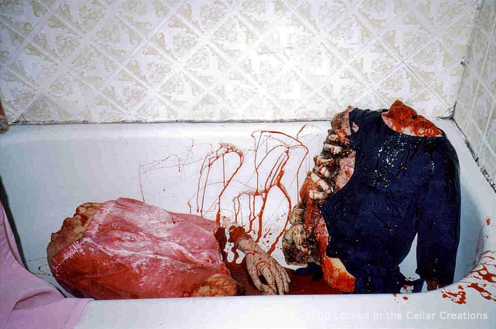 "Body parts in tub, Movie FX ""Under The Bridge"""