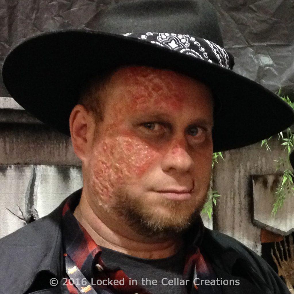 Silicone Kit: Burn Make-up
