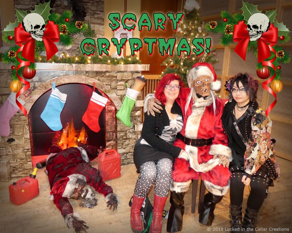Scary Christmas! Come and get your picture taken with Crypt Kringle!