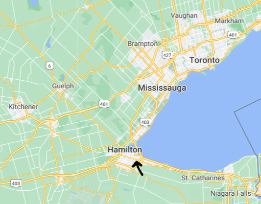 Our workshop is located in East Hamilton (ON) - See map